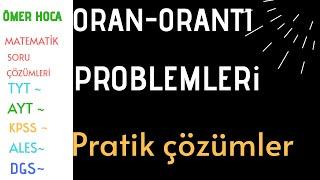 Matematik I Oran-orantı problemleri I pratik çözümler