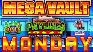 🔴 MEGA VAULT MONDAY ★ IGT GAME REVIEW ★ LIVE FROM THE SLOT MUSEUM