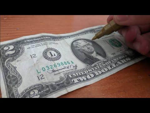 Download Custom Rare Dollar Bill!! 💸✍️