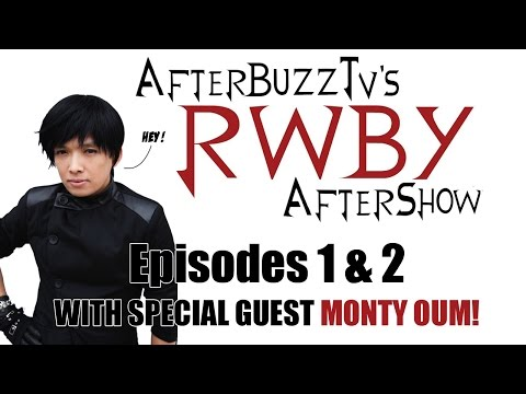 """RWBY After Show w/ Monty Oum Volume 2 Chapters 1 and 2 """"Best Day Ever; Welcome To Beacon"""" 