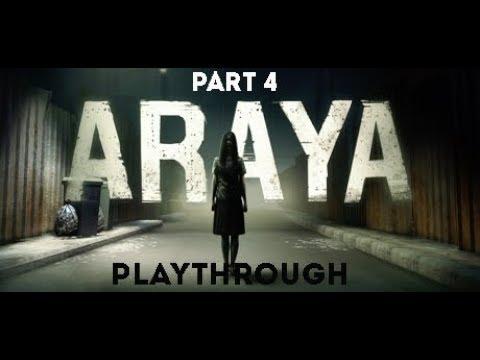 ARAYA - Playthrough Part 4 (first person horror game)