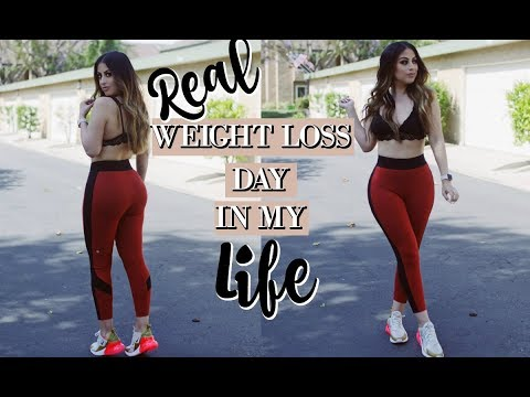 REAL WEIGHT LOSS DAY IN MY LIFE: WHAT I EAT + GYM WORKOUTS