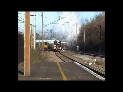BR 60163 Tornado, 1Z61 at Finsbury Park (10th December 2012)