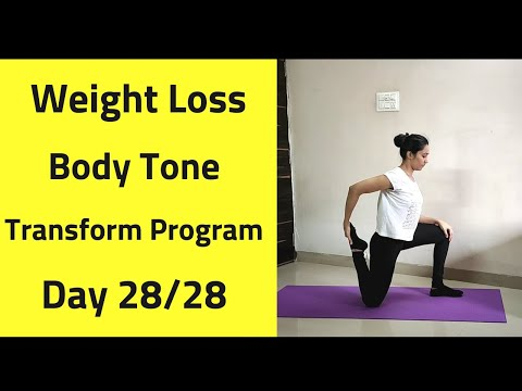 Day 28/28 FULL BODY TRANSFORMATION WORKOUT| Goal 5 10 kg WEIGHT LOSS | TONE YOUR BODY