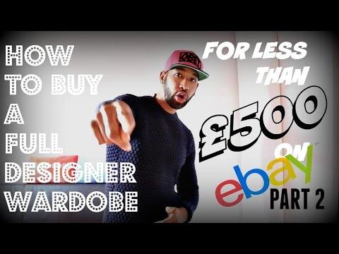 Buying a full Designer Wardrobe for less than £500 on ebay | Part 2