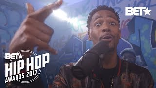 The Cast Of 50 Central Did An Instabooth Freestyle | BET Hip Hop Awards 2017