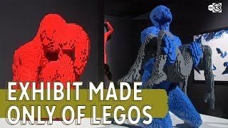 The world's largest display made only of Legos