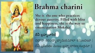 Brahmacharini Stuti |Jaap Mantra | stotram |  Navdurga Stuti | Happy Navrathri | Day 2 Navratri