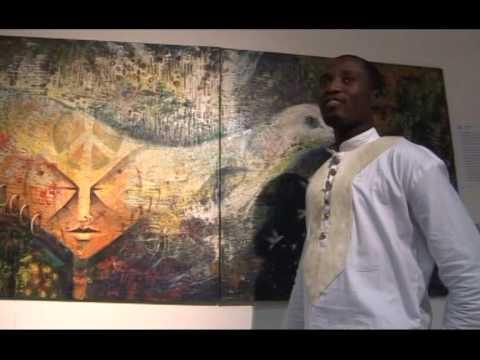 Tijay at Peace Splash Art Exhibition Ghana 2012 - 4