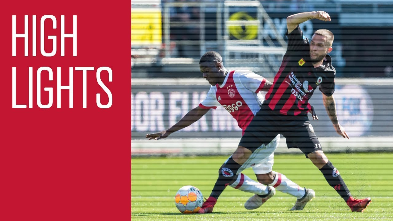 Highlights Excelsior - Ajax - YouTube
