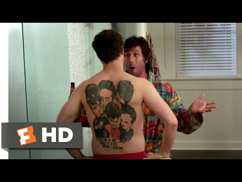 That's My Boy (2012) - Back Tattoos Scene (4/10) | Movieclips