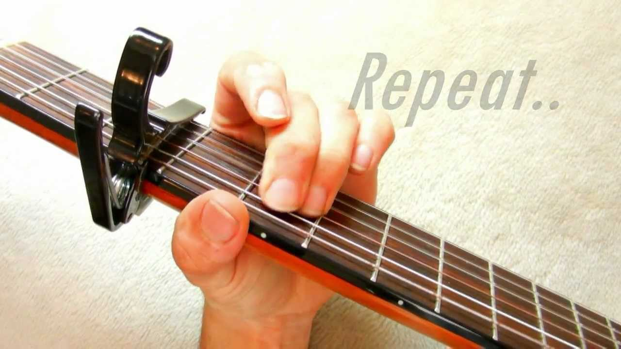 Wide Awake Katy Perry Acoustic Guitar Tutorial Lesson Chords And