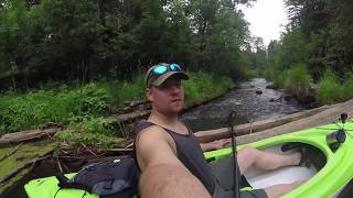 Kayak Camping the Mississippi Headwaters Ep. 1 Itasca to Coffee Pot Landing