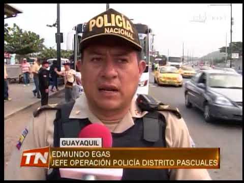 Policía ejecutó operativo para evitar robos en el sector de Pascuales
