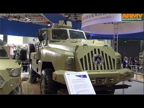 CS/VP3 MRAP Mine Protected Armoured Vehicle China Chinese defense industry Poly Technologies