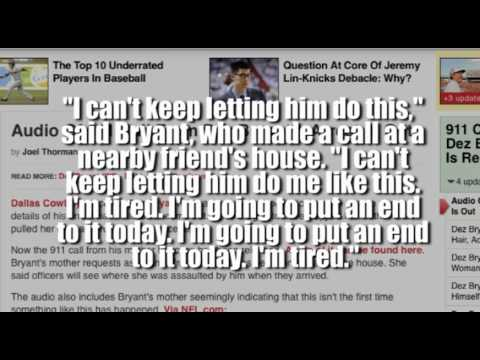 Dez bryant gives new meaning to the word douche bag youtube - What is the meaning of douche ...