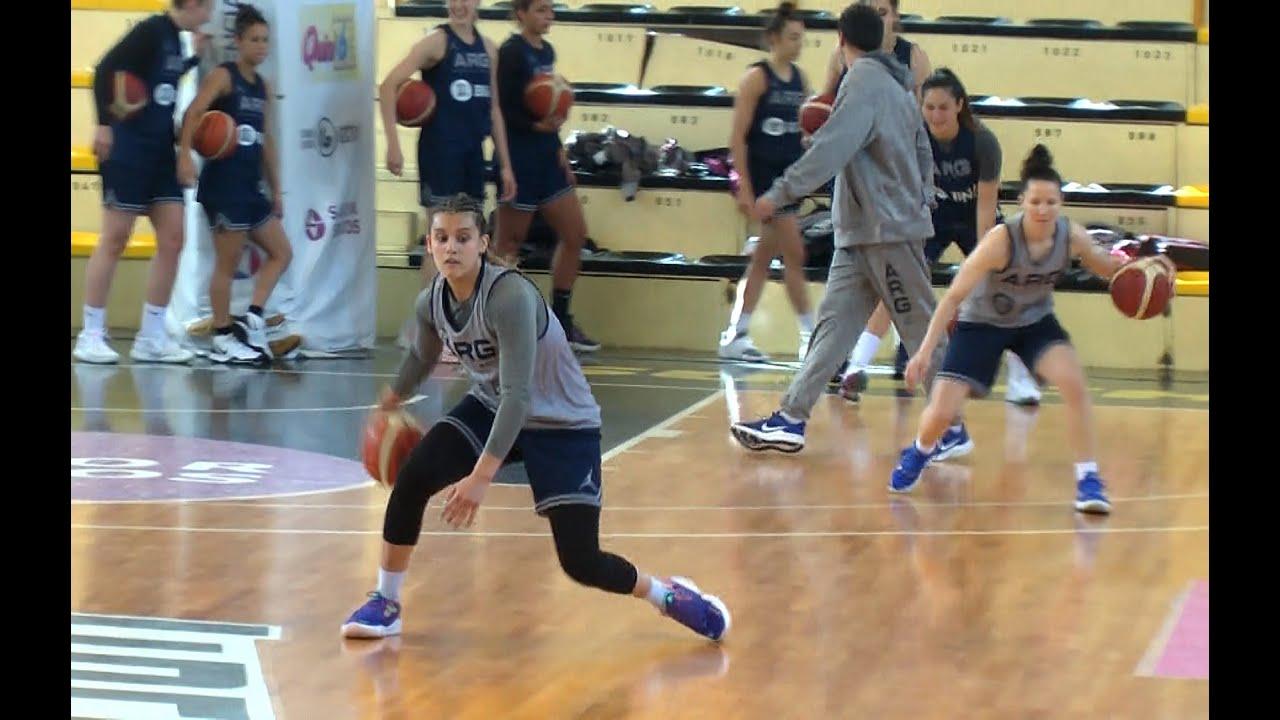Flor Chagas, la primera argentina elegida en el draft de la WNBA estuvo en Sunchales