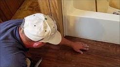 Best way to fix a Trailer house floor repair