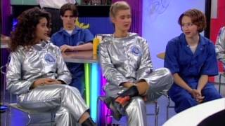 Saved by the Bell space suit clips