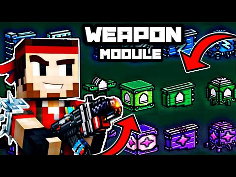 Pixel Gun 3D| HOW TO EARN, USE, AND REMOVE WEAPON MODULES IN ( 16.2.0) Update