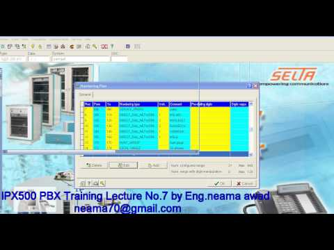 IPX 500 PBX TRAINING LECTURE NO 7 BY ENG NEAMA AWAD
