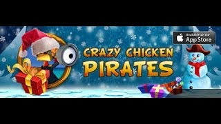 Crazy Chicken: Pirates (Christmas Edition) GamePlay