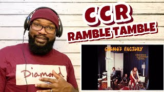 Creedence Clearwater Revival - Ramble Tamble | REACTION