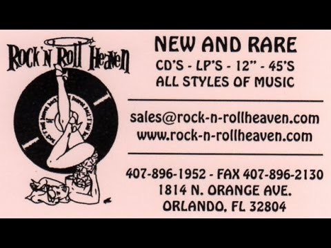 Record Store Walking Tour #30 ~ Rock N Roll Heaven (Orlando, FL)