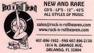 Record Store Walking Tour #30 ~ Rock N Roll Heaven (Orlando, FL)