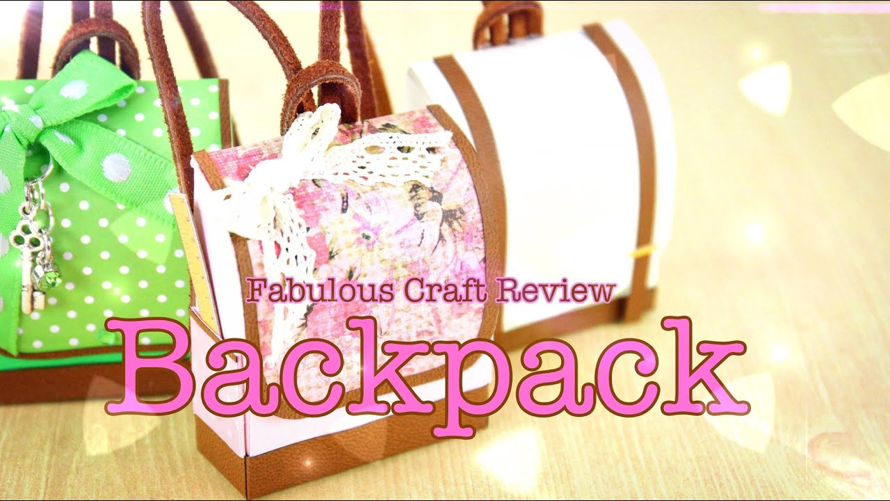 image relating to Printable Backpacks identify Do-it-yourself - Incredible Craft Evaluation: Doll Backpack - Do-it-yourself - Doll - Crafts