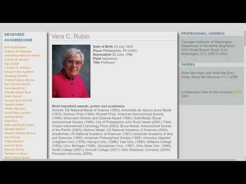 64. Commemoration   Vera Rubin