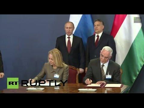 LIVE: Vladimir Putin meets Viktor Orban in Budapest - PRESS CONFERENCE IN ENGLISH