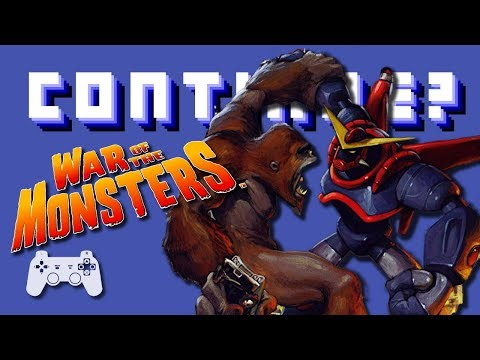 War of the Monsters (PS2) - Continue?