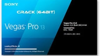 [TUTO]- Crack Sony Vegas Pro 13 (64bit)