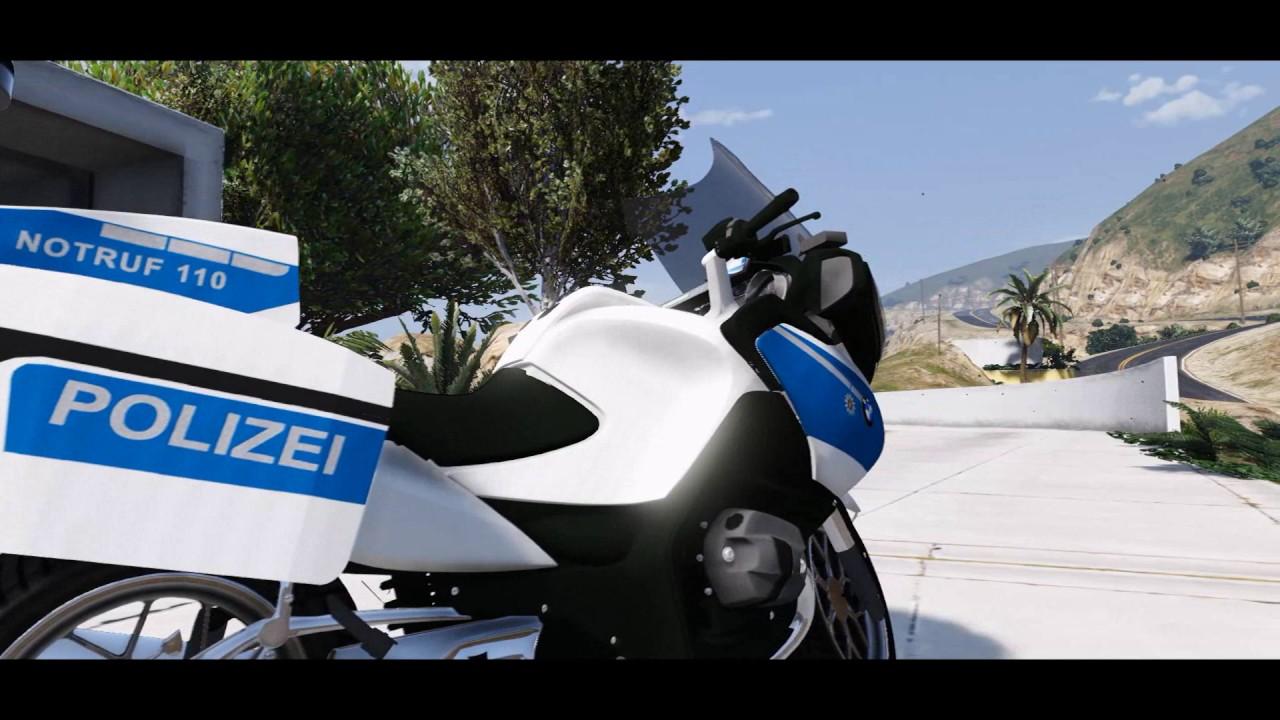 Bmw R1200rt Polizei Skin Preview