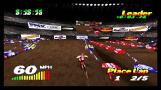 VMX Racing PSX (Playstation) Championship - 02 - New Orleands Supercross