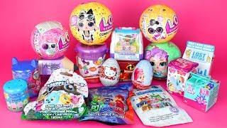 Surprise Opening LOL Surprise PJ Masks Toys Peppa Pig Doc McStuffins Blind Bags Surprise Eggs