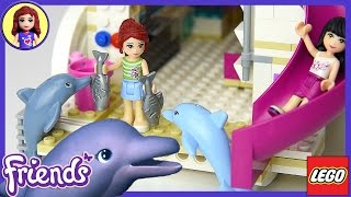 Lego Friends Dolphin Cruiser Set Build Review Play - Kids Toys