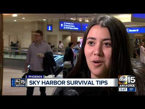 Some quick tips for managing time at Sky Harbor Airport during the holidays