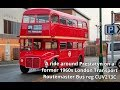 Prestatyn 30.11.2019 - Ride around town on London Transport Routemaster bus CUV213C RM2213