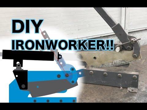 DIY Poor Mans Ironworker - Part 1