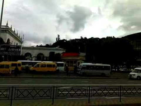 Вокзальная площадь, ЖД вокзал ВИДЕОПРОБКИ пробки в