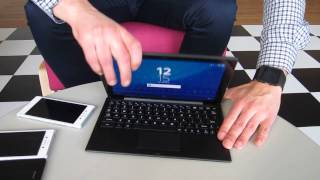 Sony Xperia Z4 Tablet - Demo | Mobile World Congress 2015