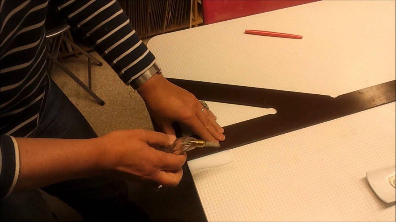 Comment couper un carreau de verre sans casse youtube - Comment couper du verre feuillete ...