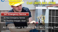 Air Conditioner Is Working But Not Cooling Deltona FL (407) 641-2768