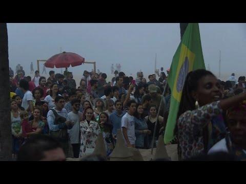 Leading Brazilian musicians stage protest concert in Rio