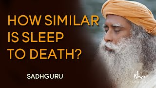 How Similar is Sleep to Death? Sadhguru | Isha Foundation | Yoga | Sprituality | Meditation | screenshot 5