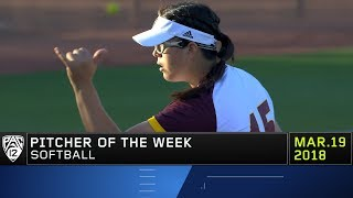 Arizona State's Giselle Juarez collects Pac-12 Softball Pitcher of the Week honors