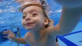 Грудничковое плавание в Москве | Раннее Плавание #01