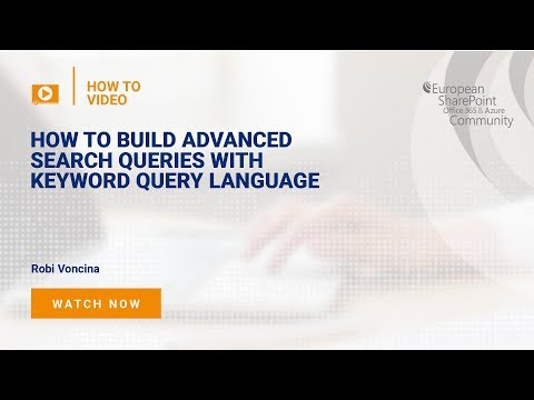 How to Build Advanced Search Queries with Keyword Query Language